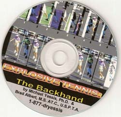 Explosive Tennis (Forehand and Backhand)- CDs